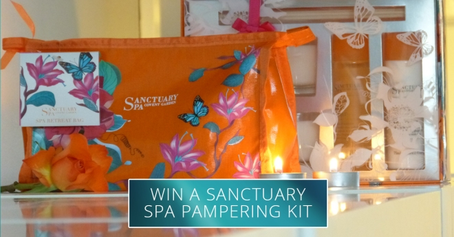 Win Sanctuary Spa Pampering Kit