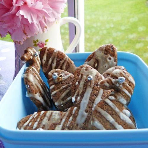 Gingerbread animals recipe