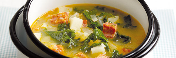 CHORIZO AND KALE SOUP