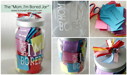 I am bored jar