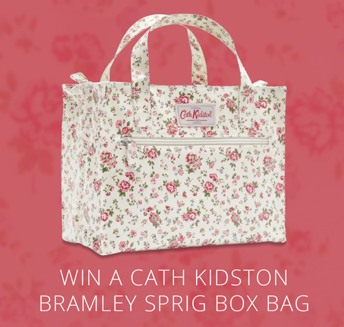 Win a Cath Kidston Bramley Sprig Box Bag