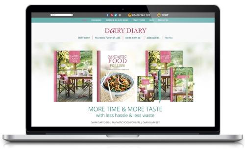 Dairy Diary 2015 website