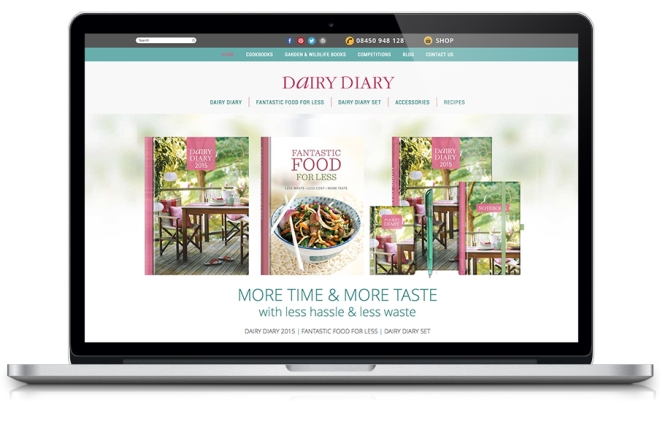 Dairy Diary 2015 website