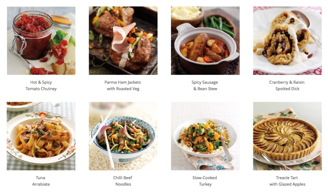 Fantastic Food For Less sample recipes
