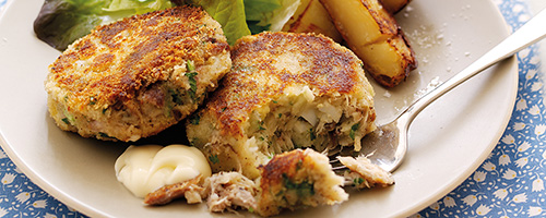 Mackerel Fishcakes