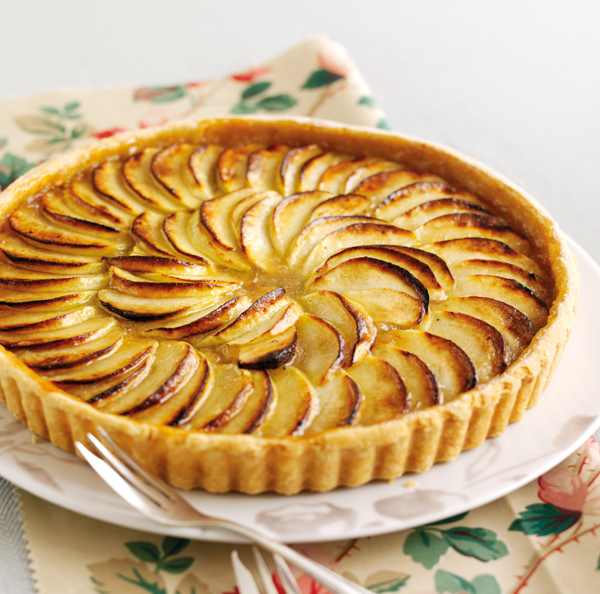 Treacle Tart with Glazed Apple | Dairy Diary Chat