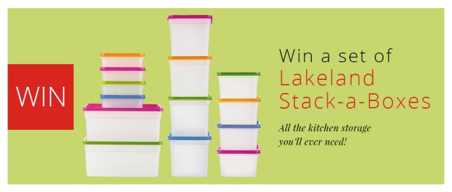 Win a set of 25 stack-a-boxes
