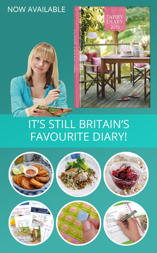 Britain's best-selling 2015 diary