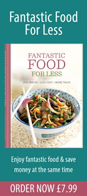 Fantastic Food For Less money-saving cookbook