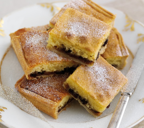 Mincemeat Bakewell Squares