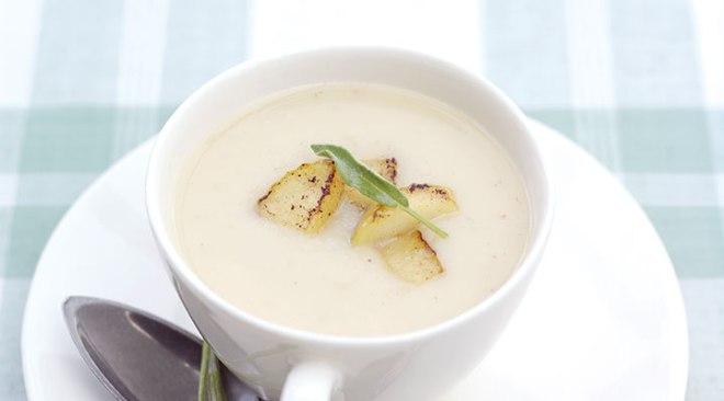 Parsnip Apple Soup
