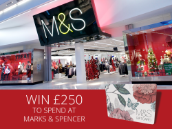 Win £250 M&S Gift Card