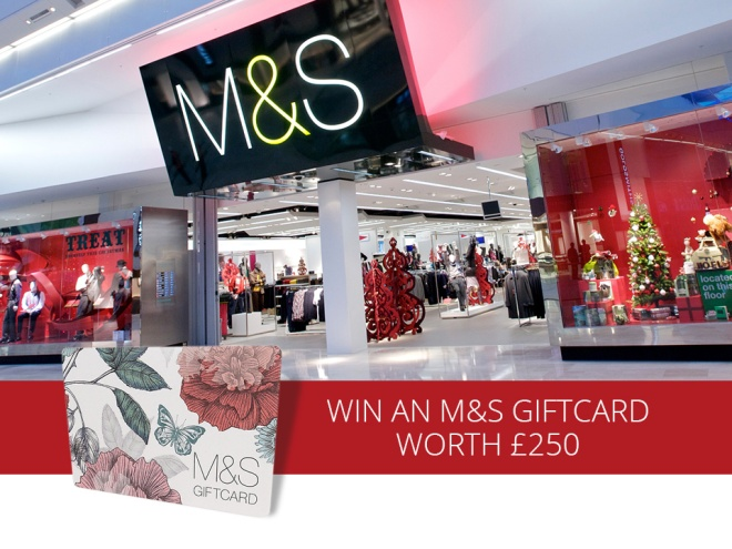 Win an M&S £250 Giftcard