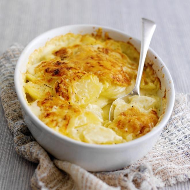 Potatoes Dauphinois