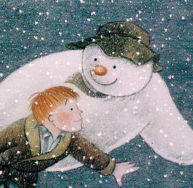 The-Snowman at Christmas