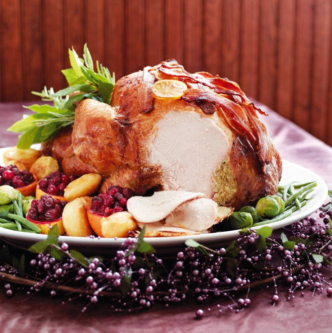 Turkey with Sherry Gravy