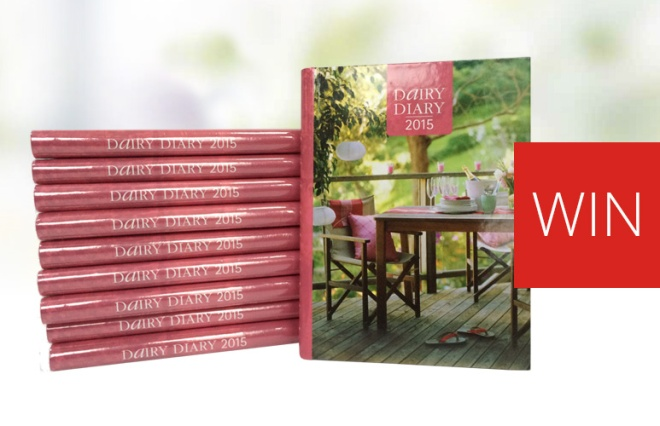Win a Dairy Diary 2015