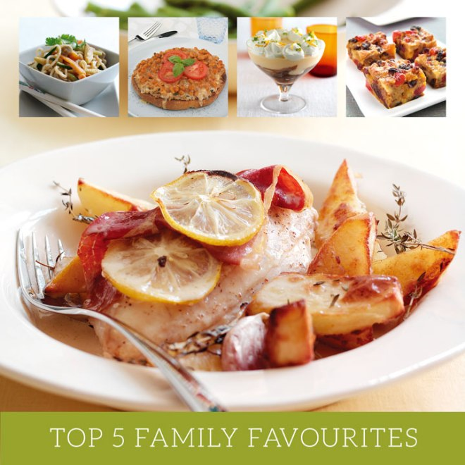 Top 5 Family Favourite Recipes