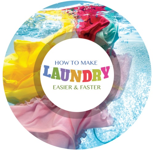 Making laundry easier and faster