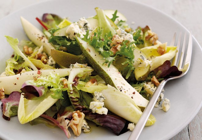 Pear & Stilton Salad