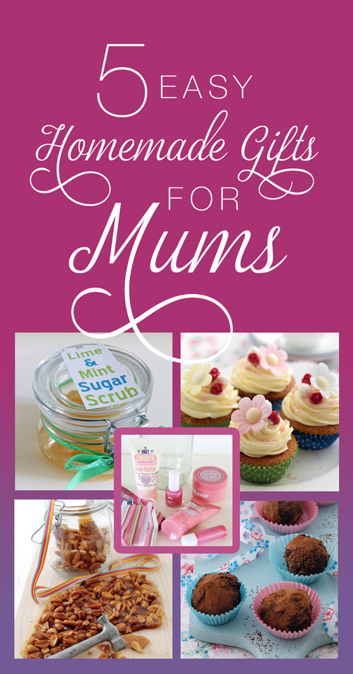 5 easy homemade gifts for mums on Mothering Sunday