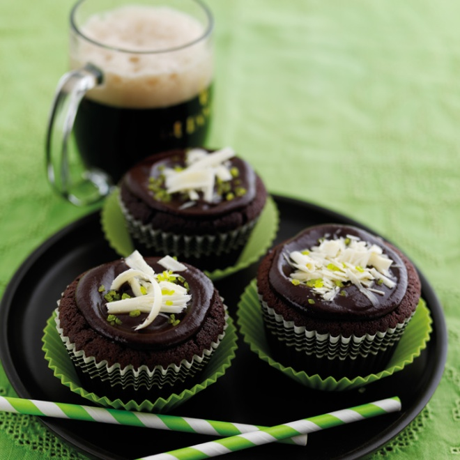 Rich Chocolate Guinness Cupcakes