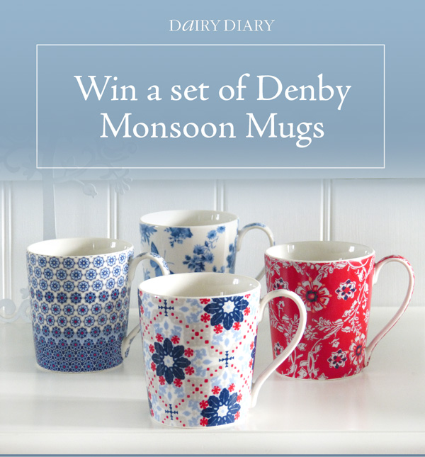 Win a set of Denby Monsoon Mugs