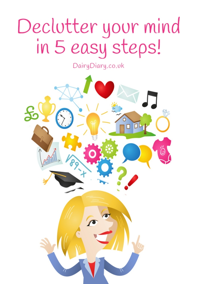 Declutter your mind in 5 easy steps