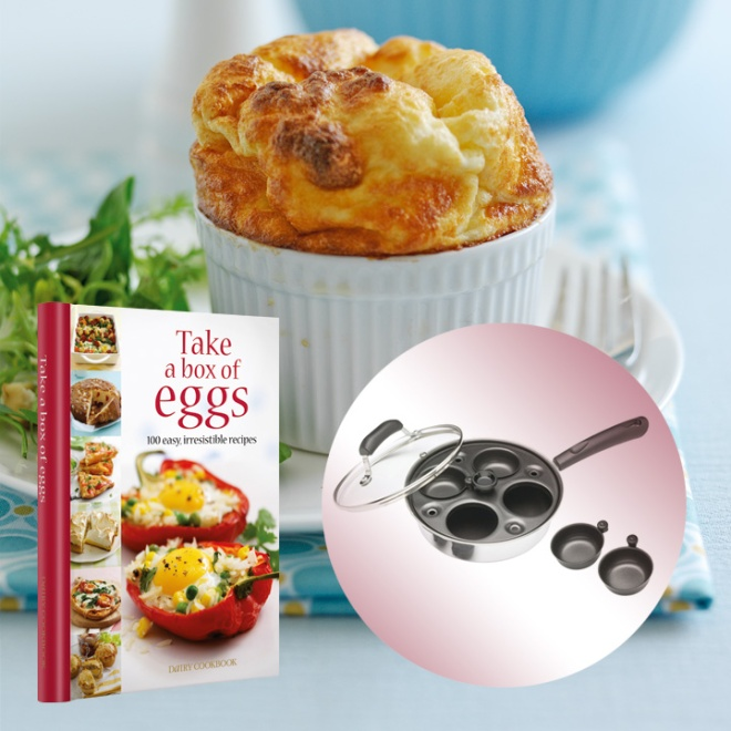 Half price Take a Box of Eggs cookbook