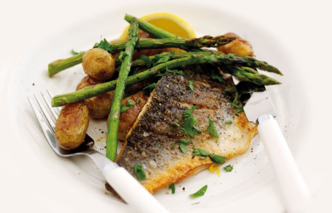 Sea-Bass-with-asparagus