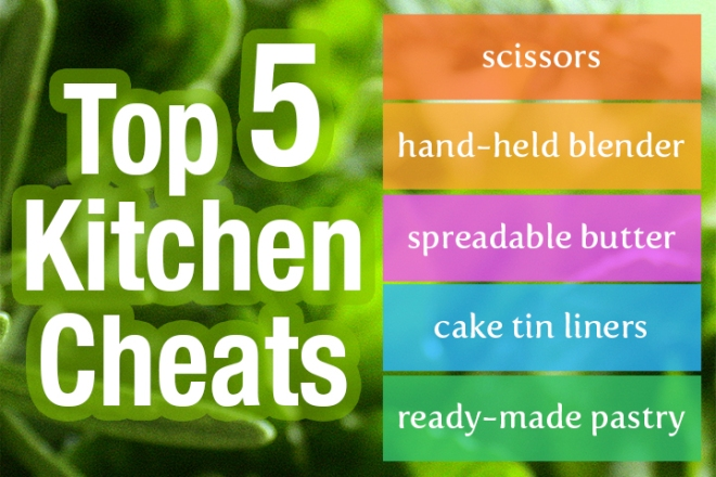 Top 5 Kitchen Cheats
