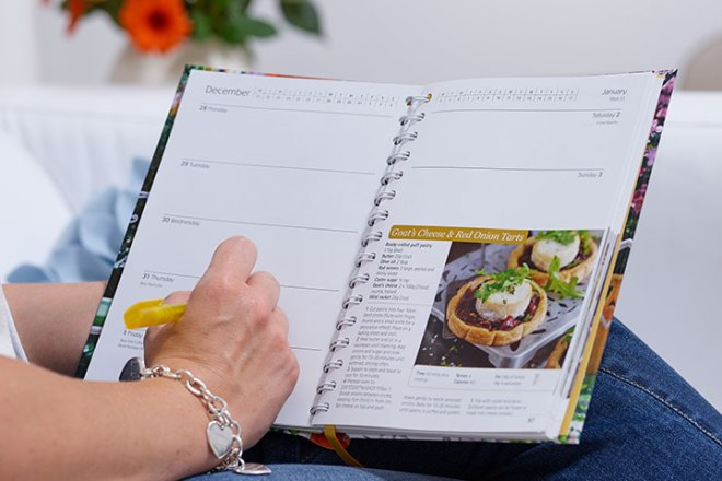 Dairy Diary 2016 with lots of writing space