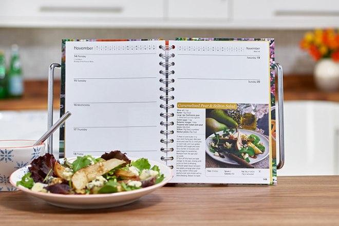 Dairy Diary 2016 weekly recipes