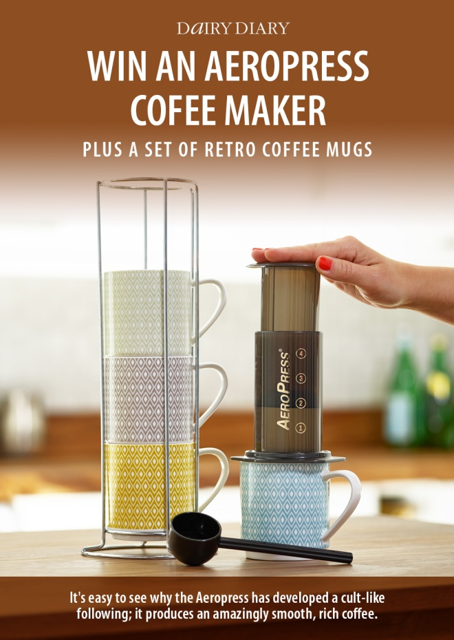 Competition: Win an Aeropress Coffee Maker