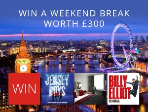 Win a £300 Weekend Break