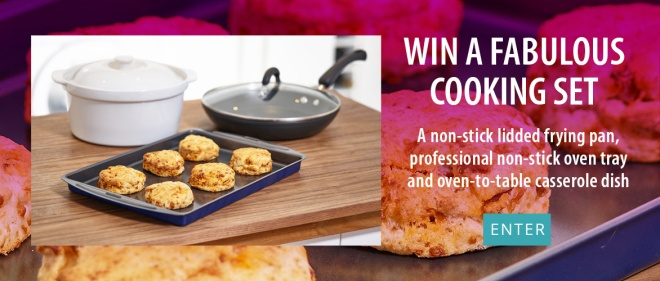 Win a fabulous Cooking Set