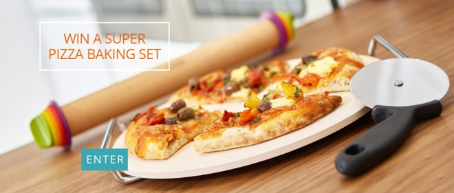 Win a Pizza Baking Set