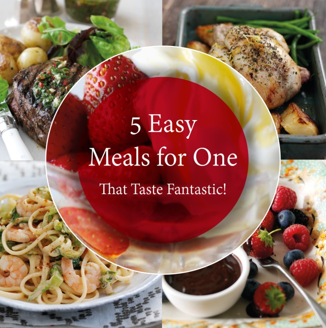 Five Easy Meals for One from Just For One Or Two cookbook