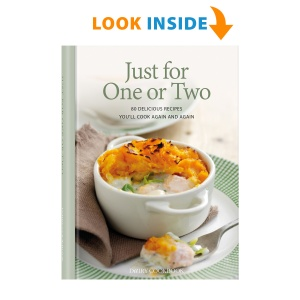 Look inside the Just For One Or Two cookbook
