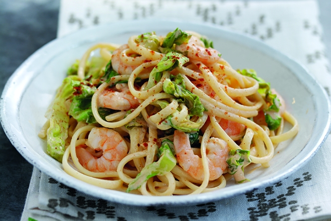 Prawn Cocktail Pasta from the Just For One Or Two cookbook