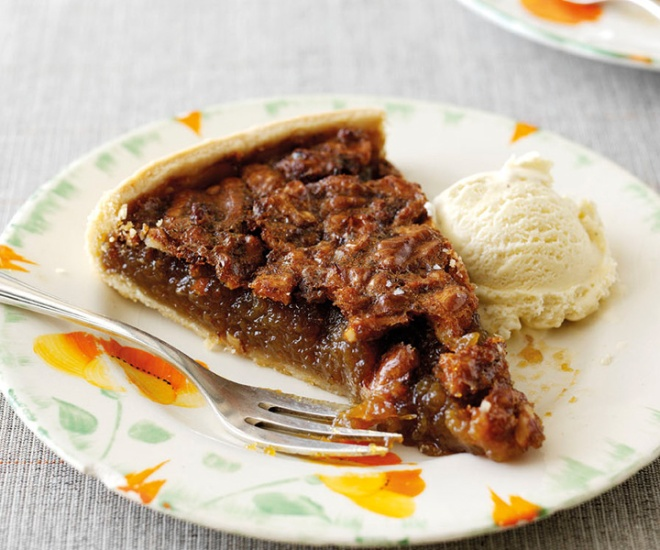 Sticky Walnut Tart