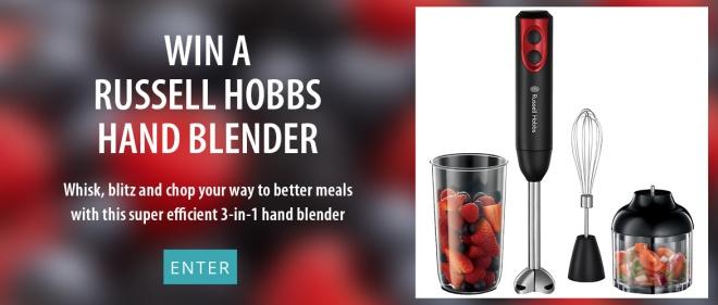 Win a Russell Hobbs Hand Blender