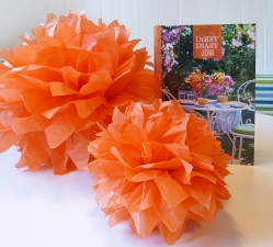 the perfect paper pompom