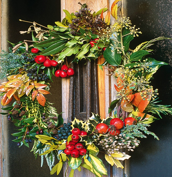 How To Make A Christmas Wreath Dairy Diary Chat: christmas wreaths to make