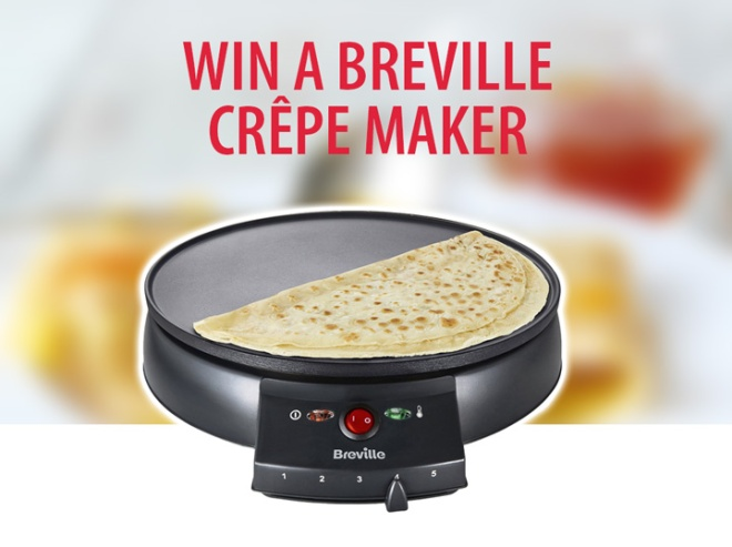 Win a Breville Crêpe Maker