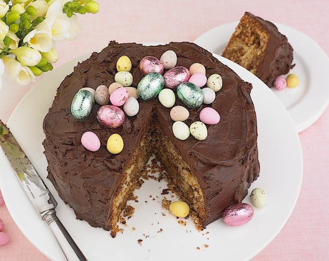 Mocha Easter Cake