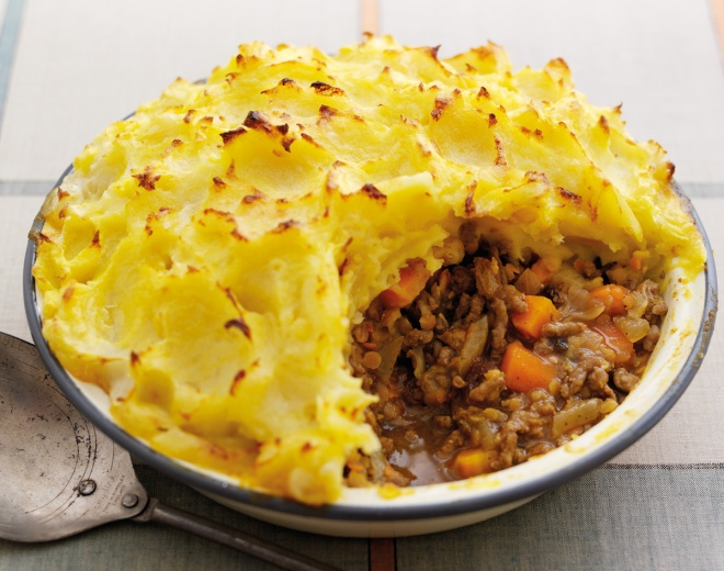 Spiced Cottage Pie