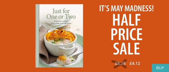 Just For One Or Two now half-price!