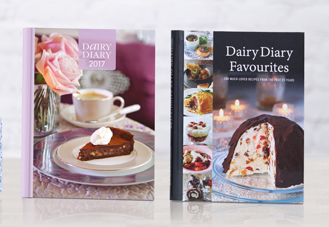 Dairy Diary 2017 and Dairy Diary Favourites Cookbook