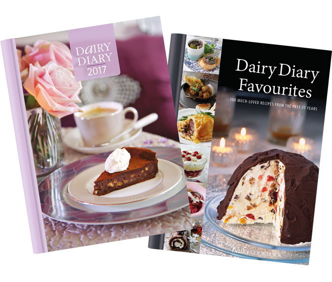 Dairy Diary 2017 andDairy Diary Favourites cookbook